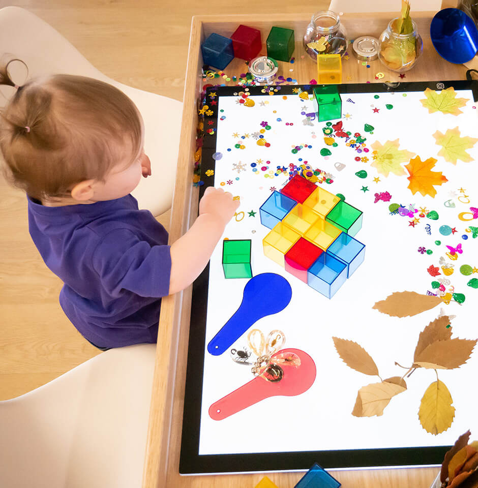 The Pocket Early Education and Care - Philosophy - We Strive Toddler crafting