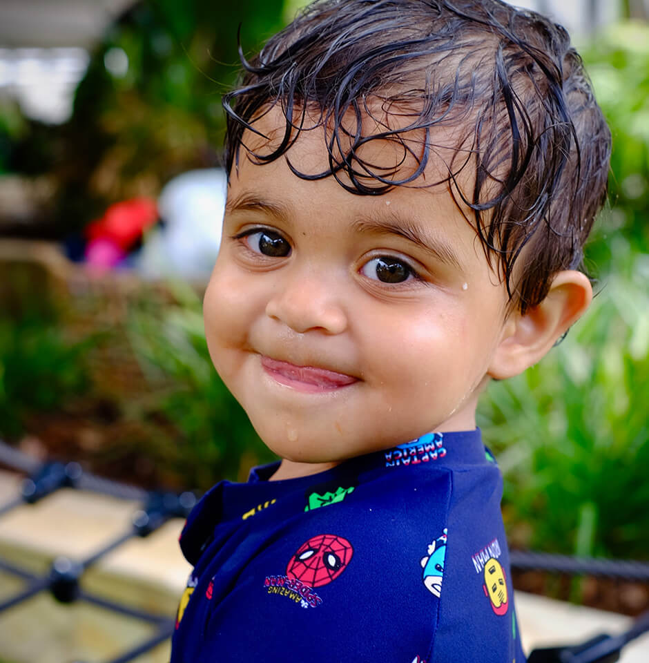 The Brook Early Education and Care - Toddler Smiling