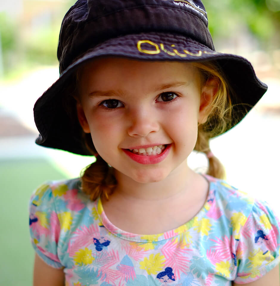 The Brook Early Education and Care - Learn through Play - Kindy Aged Girl