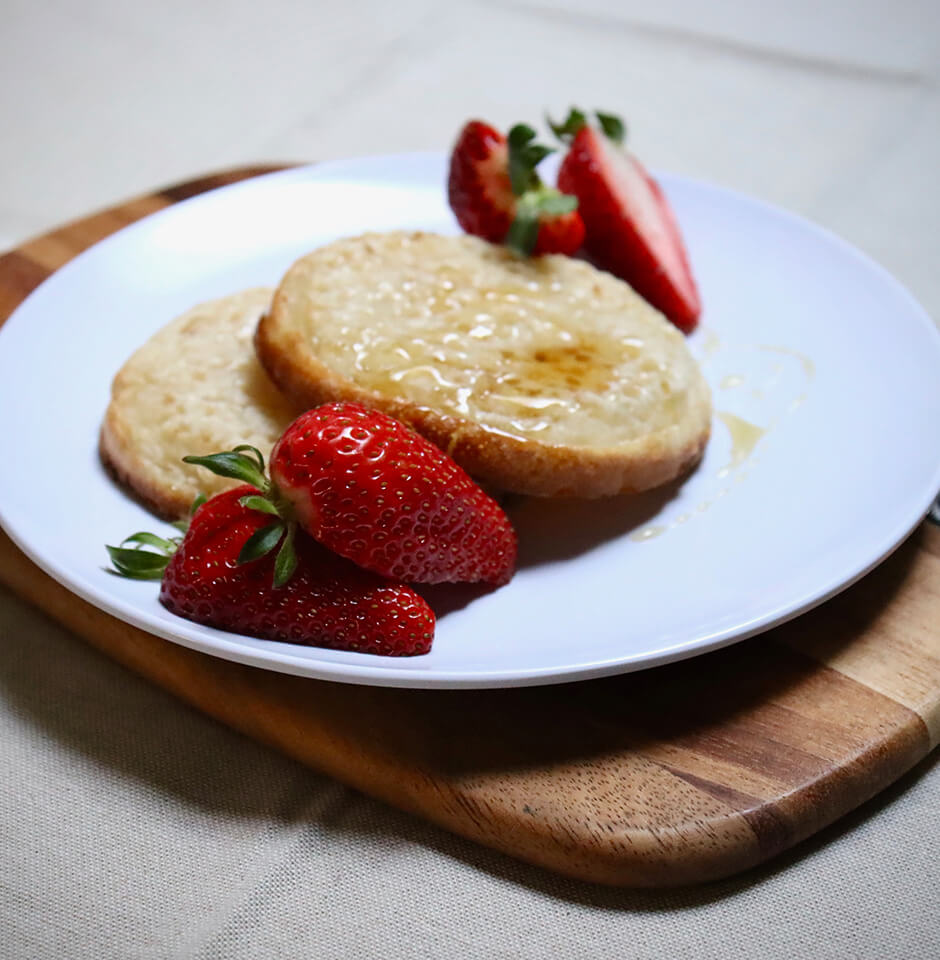 The Brook Early Education and Care - Nutritious Meals - Crumpets and Strawberries