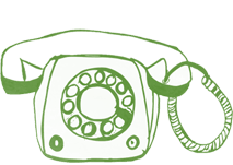 St Clare Group Green Telephone