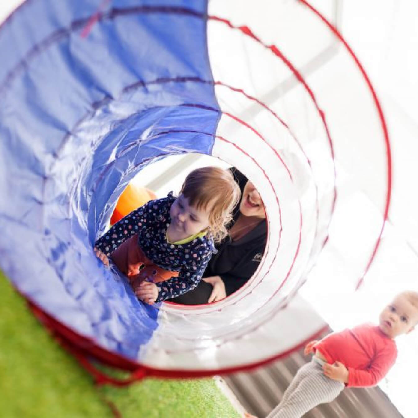 The Brook Early Education and Care - Toddlers Playing Outside